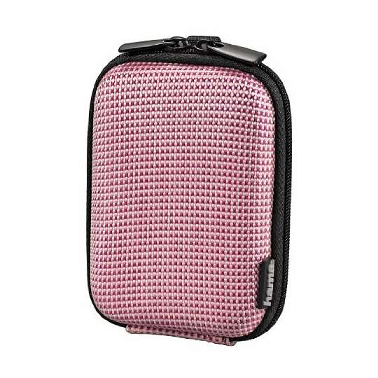 Pokrowiec na aparat Hama hard case Two tone - Kolor: różowy