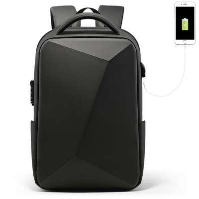 """Antykradzieżowy plecak FRN na laptopa 15,6"""" z USB"""