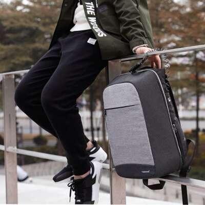 """Antykradzieżowy plecak Tigernu na laptopa 15,6"""" T-B3335 z USB"""
