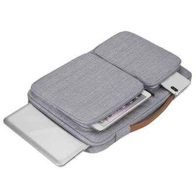 """Etui Canvas K28-22 z dwoma kieszonkami i rączką na laptopa 13.3"""""""