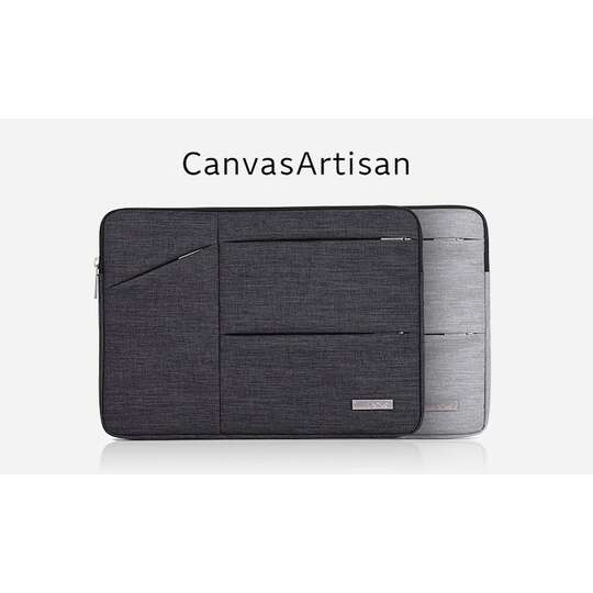"Etui Canvas na laptopa 14,1"" z kieszonkami"