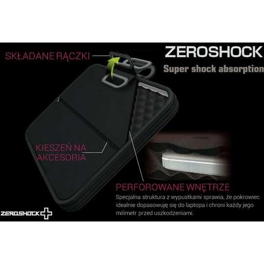 """Etui Elecom Zeroshock 13,3"""" z rączkami"""