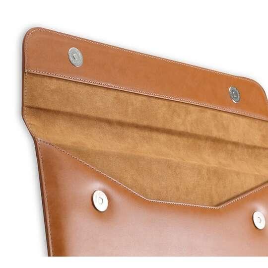Etui Lention skóra naturalna Macbook Air 13