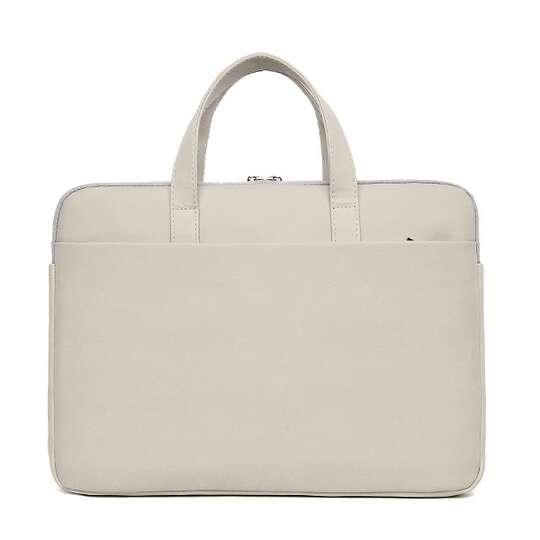 """Etui/torba pikowane JQ na laptopa 13,3"""" 14,1"""" eco skóra"""