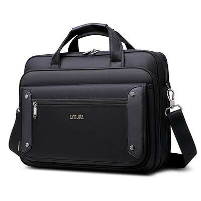 "Klasyczna torba na laptopa 17,3"" dwukomorowa"