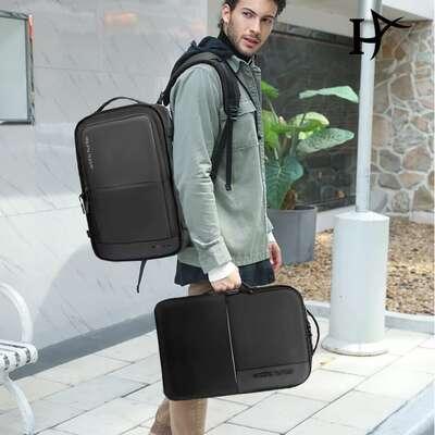 """Plecak 2in1 Arctic Hunter na laptopa 15,6"""" bardzo pojemny bagaż podręczny B00382"""