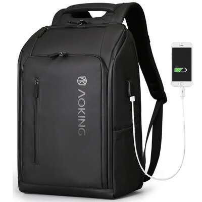 "Plecak Aoking 77886 na laptopa 15,6"" z USB"