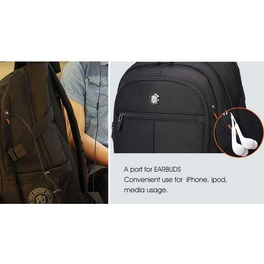 """Plecak Aoking na laptopa 15,6"""" 16,4"""" bardzo pojemny"""