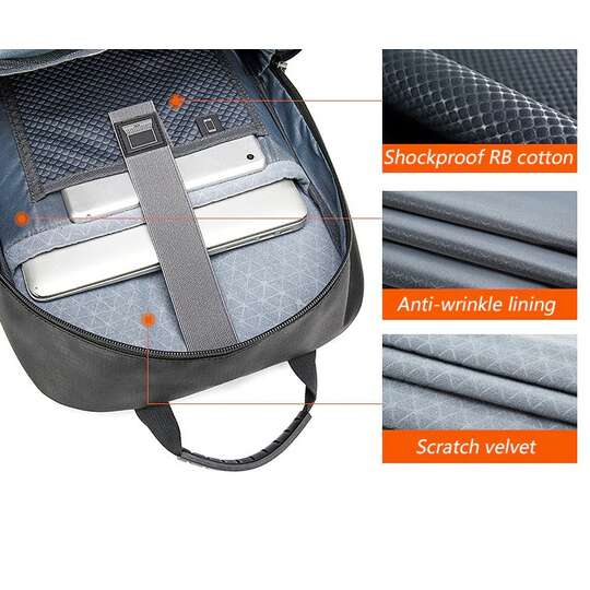 "Plecak Aoking na laptopa 15,6"" FN77178 z USB (1)"