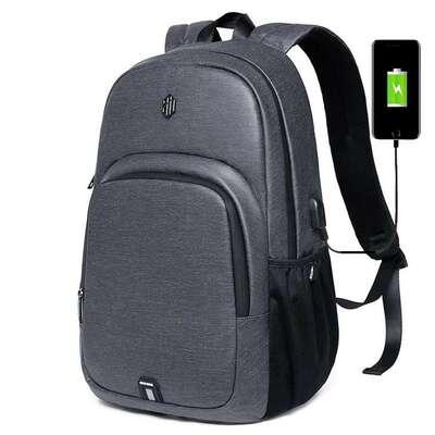 """Plecak Arctic Hunter na laptopa 15,6"""" B00249 z USB"""