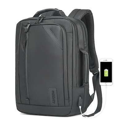"""Plecak Arctic Hunter na laptopa 15,6"""" B00326 z USB"""