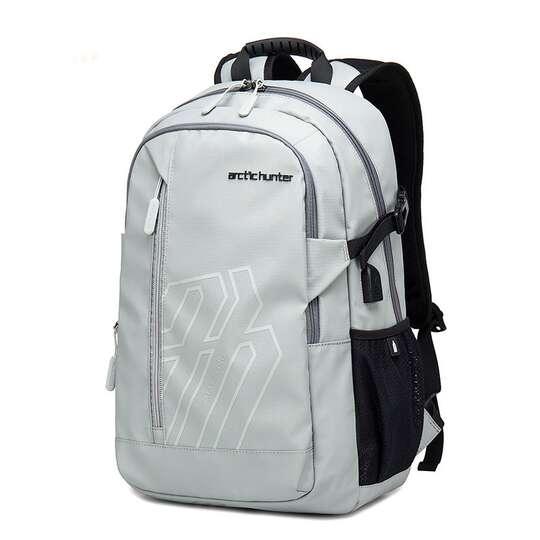 """Plecak Arctic Hunter na laptopa 15,6"""" B00387 z USB"""