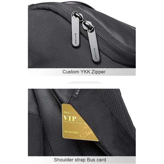 """Plecak Bange BG-7078 na laptopa 15,6"""" z USB"""