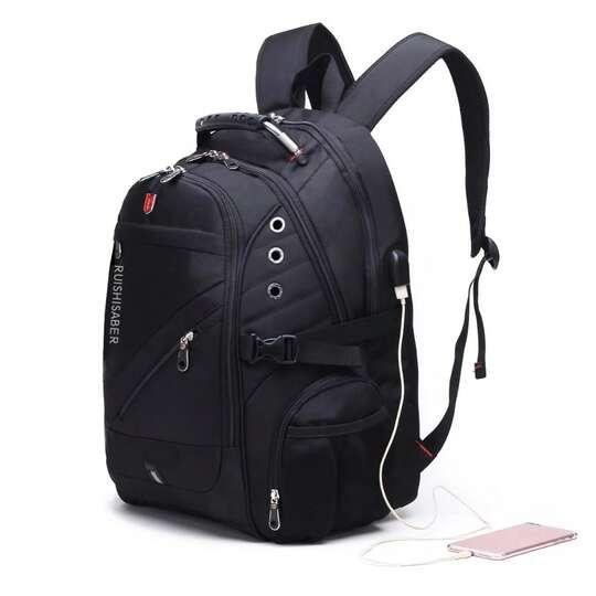 """Plecak Bange na laptopa 17,3"""" bardzo pojemny złącze USB"""