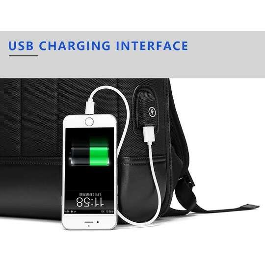 "Plecak Eurcool/Nigeer na laptopa 15,6"" EC-1990 z USB"