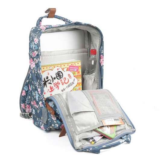 "Plecak Himawari HM188L na laptopa 13,3"" 14,1"" vintage (1)"
