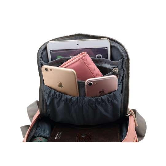 "Plecak Himawari HM188S na tablet 10"" vintage"