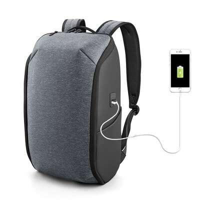 """Plecak Kingsons na laptopa 15,6"""" KS3203W rozkładany na płasko z USB"""