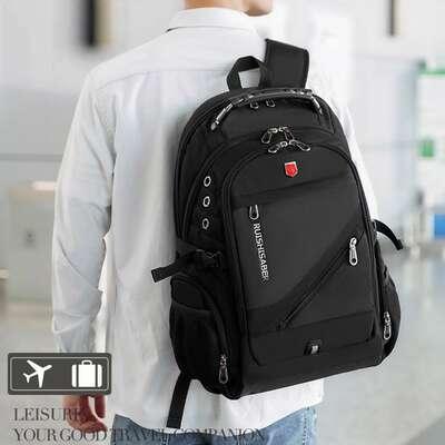 """Plecak RuiBer na laptopa 17,3"""" bardzo pojemny złącze USB"""