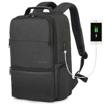 "Plecak Tigernu na laptopa 19"" T-B3905 ochrona RFID i USB"