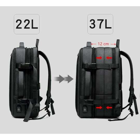 """Plecak/Torba Nigeer na laptopa 17,3"""" 1811 bagaż podręczny z USB"""