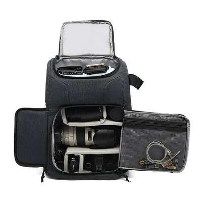 "Plecak fotograficzny na aparat + laptopa 15,6"""