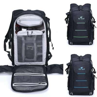 """Plecak fotograficzny na aparat + laptopa 15,6"""" Fly-Leaf FL-336"""