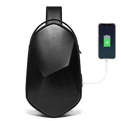 Plecak miejski Bange na jedno ramię z organizerem i USB BG-7213