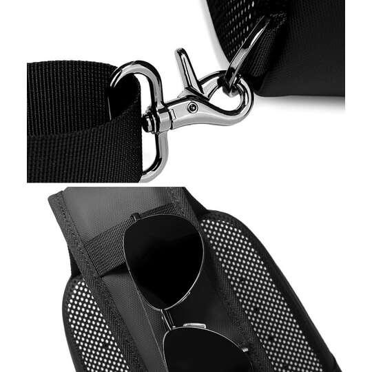 Plecak miejski Nigeer na jedno ramię z organizerem i USB 1901