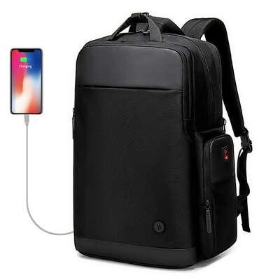 """Plecak/torba Golden Wolf na laptopa 15,6"""" GB00397 z USB bagaż podręczny"""
