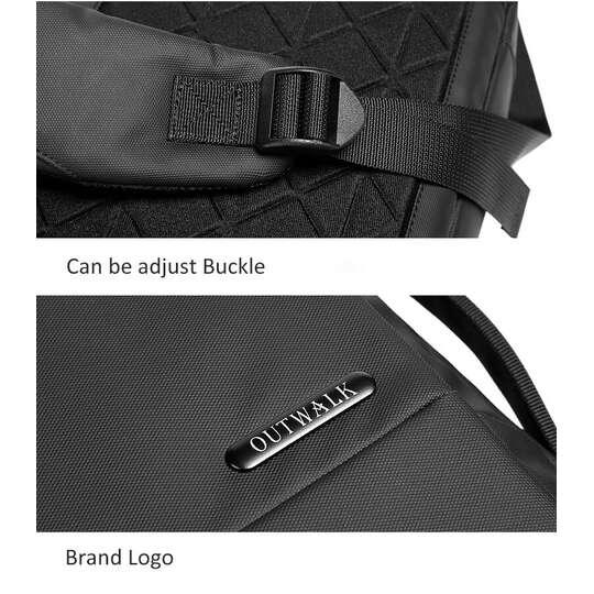 """Torba/Plecak Outwalk na laptopa 15,6"""" TW-8882 z USB"""
