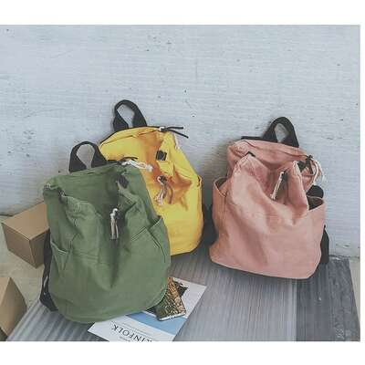 Torba/plecak vintage bardzo pojemny
