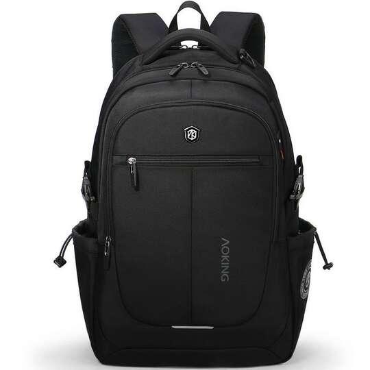 """Plecak Aoking na laptopa 15,6"""" 16,4"""" bardzo pojemny - Kolor: czarny"""
