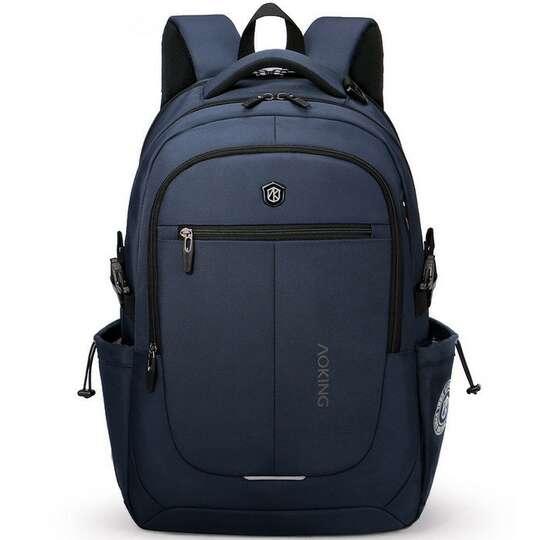 """Plecak Aoking na laptopa 15,6"""" 16,4"""" bardzo pojemny - Kolor: granatowy"""