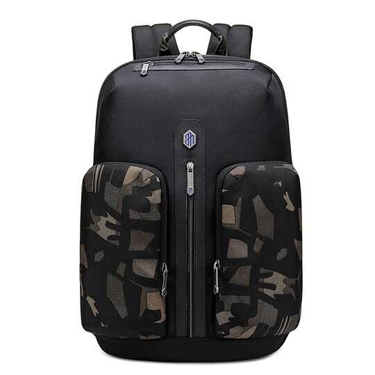 "Plecak z nylonu balistycznego na laptopa 15,6"" Arctic Hunter B00408 - Kolor: czarny"