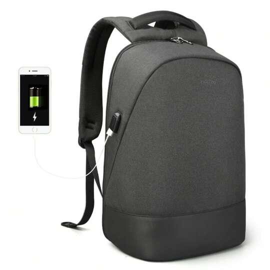 """Plecak Tigernu na laptopa 15,6"""" T-B3595 z USB - Kolor: czarny"""
