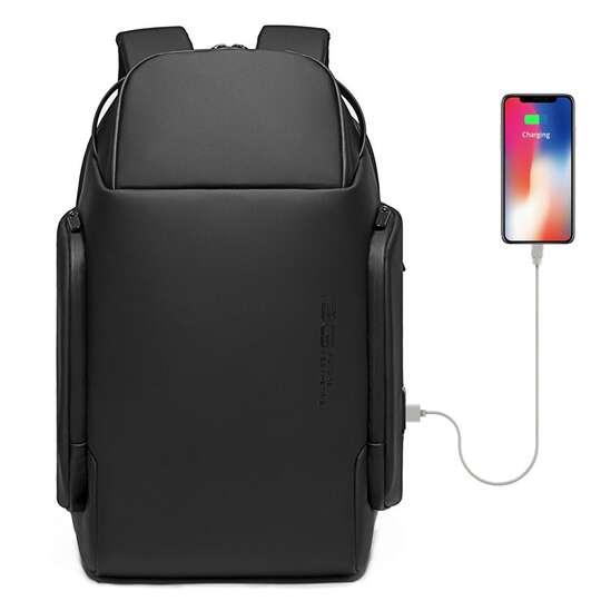 """Plecak Bange na laptopa 15,6"""" BG-7277 z USB - Kolor: czarny"""