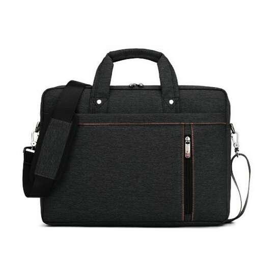 "Torba Burnur na laptopa 15,6"" - Kolor: czarny"