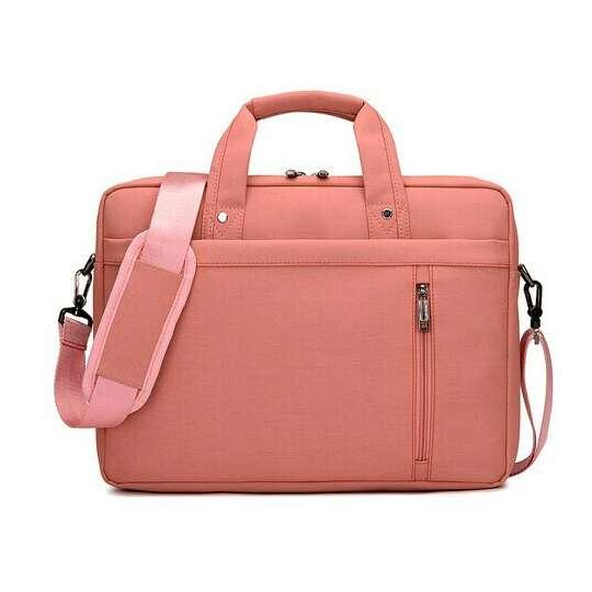 """Torba Burnur na laptopa 15,6"""" - Kolor: różowy"""