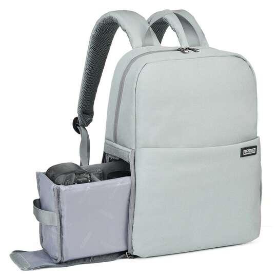 """Plecak fotograficzny Caden L4 na aparat + laptopa 14,1"""" boczny dostęp - Kolor: szałwia"""