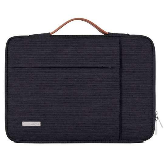 """Etui Canvas K28 z kieszonką i rączką na laptopa 13,3""""-14,1"""" - Kolor: czarny"""