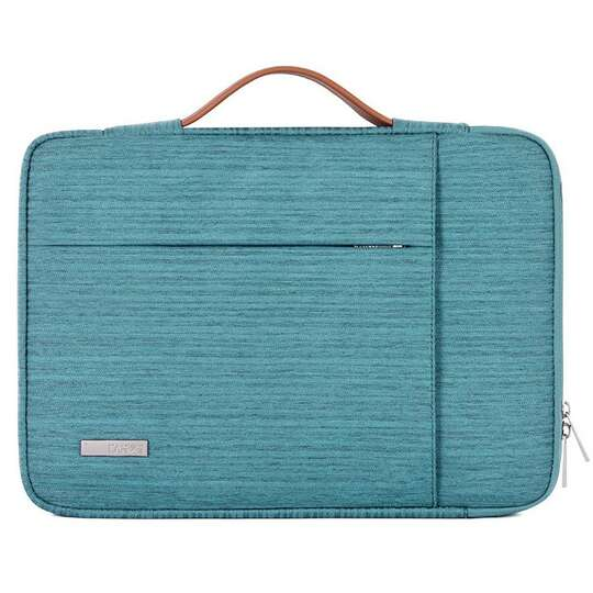 """Etui Canvas K28 z kieszonką i rączką na laptopa 13,3""""-14,1"""" - Kolor: morski"""