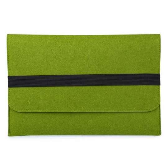 "Etui filcowe na laptopa 13,3"" - Kolor: zielony"