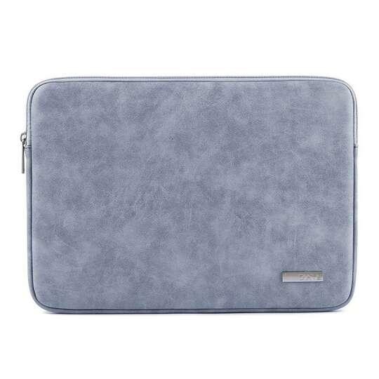 "Etui Canvas na laptopa 13,3"" eco skóra - Kolor: niebieski"