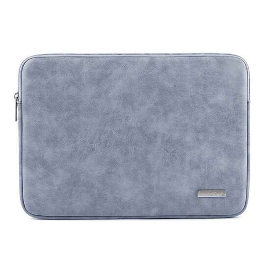 "Etui Canvas na laptopa 14,1"" eco skóra - Kolor: niebieski"