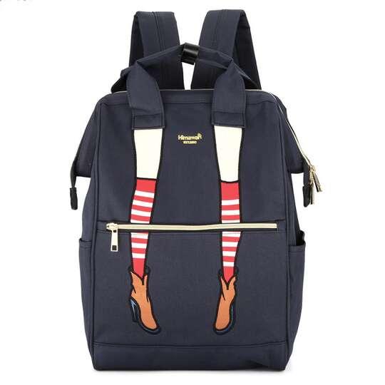 Plecak Himawari 3326 damski szkolny - Kolor: granatowy