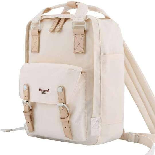 "Plecak Himawari HM188L na laptopa 13,3"" 14,1"" vintage - Kolor: 59. kremowy"