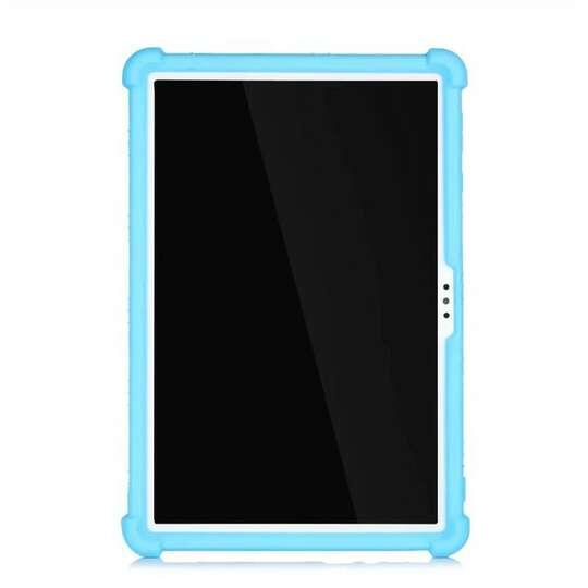 Etui silikonowe Hauawei Matepad T10 - Kolor: jasnoniebieski