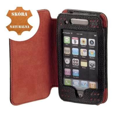 Etui do apple iPhone 3G skóra naturalna wallet