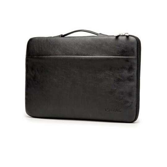 "Etui Kinmac na laptopa 15,6"" eco skóra - Kolor: czarny"